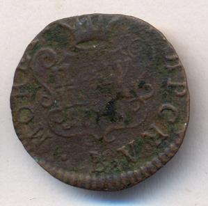 Полушка 1764 г. Сибирская монета (Екатерина II) Тиражная монета