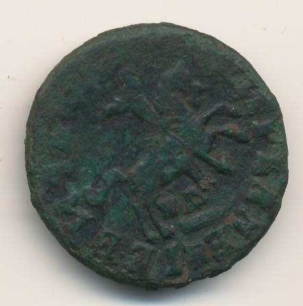 1 копейка 1717 г. WД. Петр I. Обозначение монетного двора