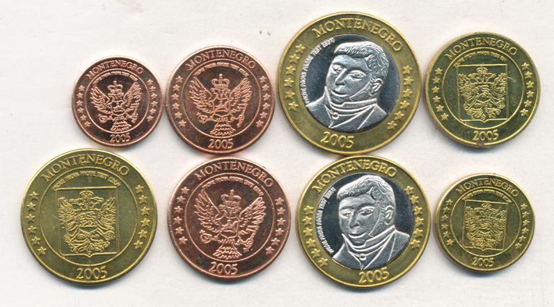 Черногория монеты все собрал ру