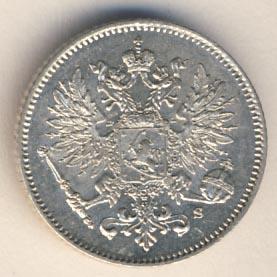 25 пенни 1913 г. S. Для Финляндии (Николай II).