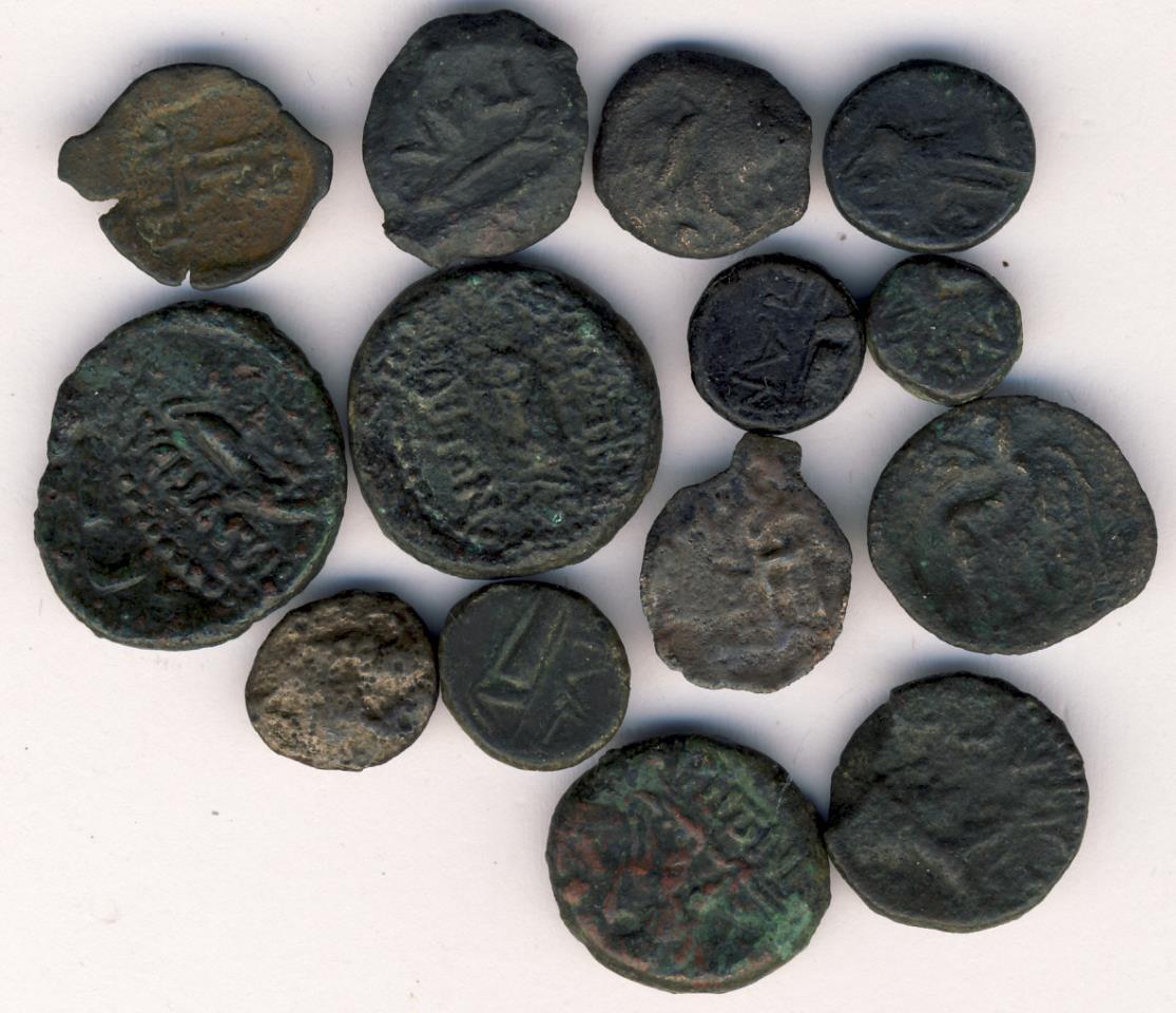 Древние монеты крыма фото