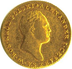 25 злотых 1818 г. IB. Для Польши (Александр I).