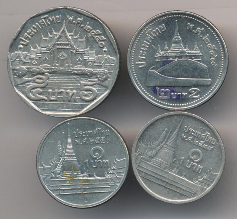 монеты тайланда картинки