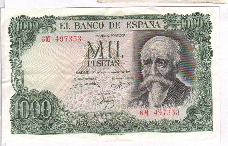 Картинки денег испании