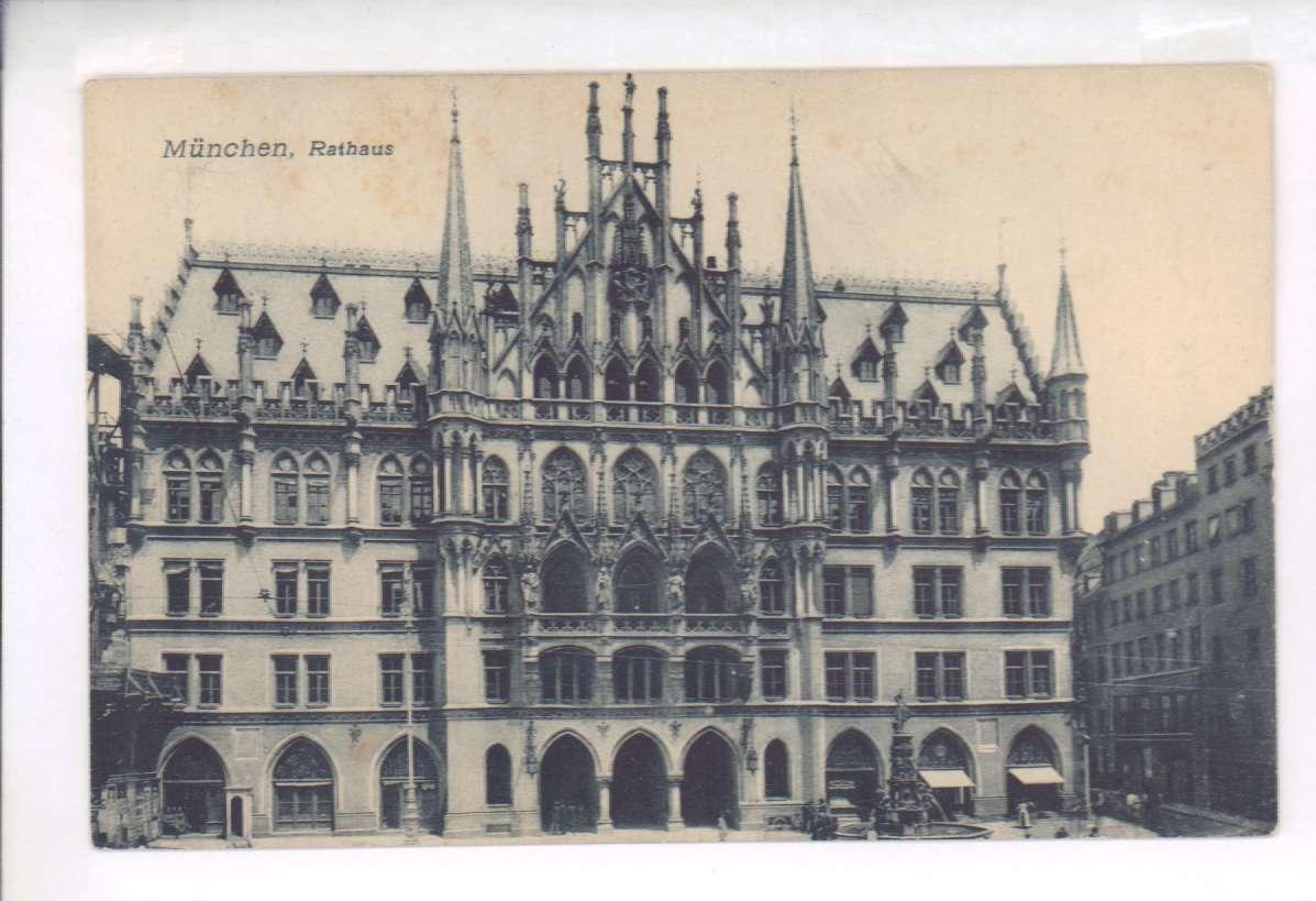 Мюнхен открытка, новым года
