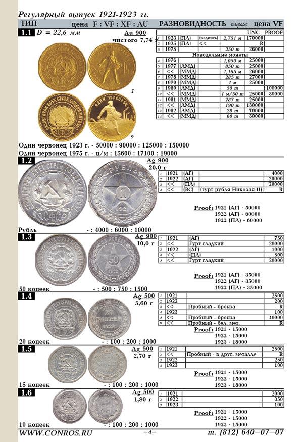 качестве сколько стоят монеты ссср каталог с фото что