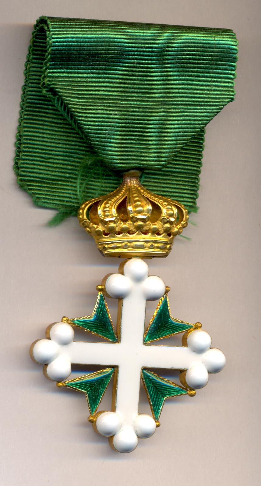 орден святых маврикия и лазаря сардинского королевства раньше других