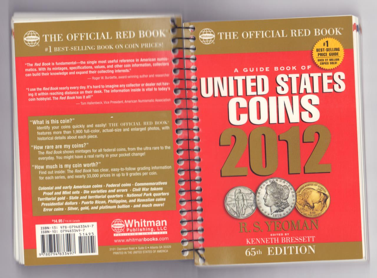 A guide book of United States cjins 2012  - аверс
